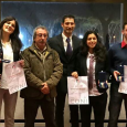 Il Presidente del Comitato Regionale Lazio Marcello Pezzolla si congratula con gli atleti: - Elena Blundo – BRONZO - Claudia Bruzzi – BRONZO - Cristian Clementi – BRONZO - Hyeon...
