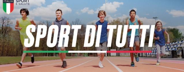 Sport di tutti è un programma per l'accesso gratuito allo sport, un modello d'intervento sportivo e sociale, che mira ad abbattere le barriere economiche e declina concretamente il principio del...